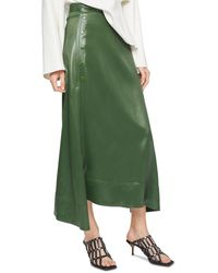 3.1 Phillip Lim Side Snap Maxi Skirt - Green