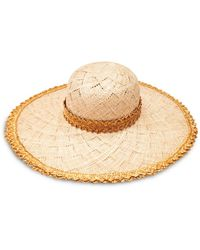Inverni Woven Hat - Metallic