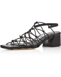 Miista Frida Block Heel Sandals - Black