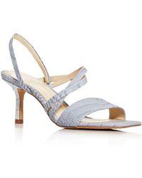 Vince Camuto Women's Savesha High - Heel Sandals - Blue