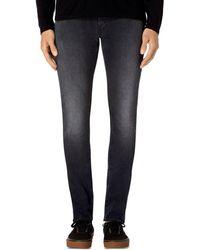 J Brand - Mick Skinny Fit Jeans In Aftershock - Lyst