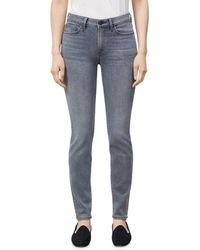 Lafayette 148 New York Mercer Skinny Jeans In Vintage Grey