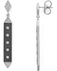 Freida Rothman - Linear Hammer Earrings - Lyst