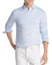 Bloomingdale's - V - Neck Cotton - Cashmere Sweater - Lyst
