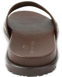 Bruno Magli Elba Slide Sandals - Brown