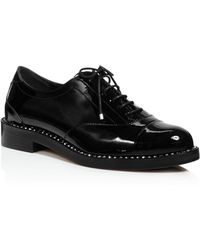 Black Patent Reeve Flat Oxfords Jimmy Choo London OnW8OB7zO
