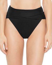 Becca - Color Code Wrap Front Bikini Bottom - Lyst