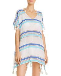 Surf Gypsy - Striped Tunic Swim Cover - Up - Lyst