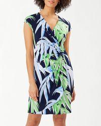Tommy Bahama Perfect Palmday Sheath Dress - Blue