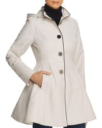 Laundry by Shelli Segal - Fit-and-flare Contrast Stitched Anorak - Lyst