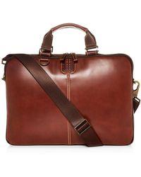 Boconi - Bryant Leather Sleeve Briefcase - Lyst