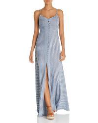 Red Carter Mika Maxi Dress Swim Cover - Up - Blue