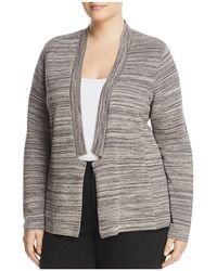 Eileen Fisher | Notch Collar Space Dye Cardigan | Lyst