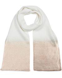 Jocelyn Ombre Metallic Knit Scarf - Multicolour