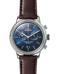 Shinola Bedrock Watch - Blue