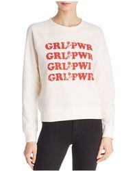 Rebecca Minkoff - Grl Pwr Graphic Sweatshirt - Lyst