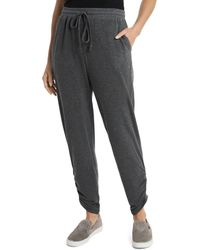 Vince Camuto Ruched Jogger Trousers - Grey