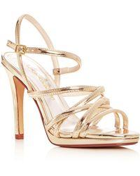 Caparros - Women's Lola Strappy Slingback High-heel Platform Sandals - Lyst