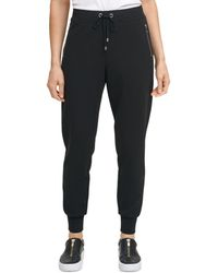 DKNY Pull On Jogger Trousers - Black