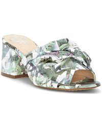 Vince Camuto - Sharrey Floral Print Dress Mules - Lyst