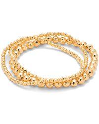 Gorjana - Taner Beaded Stretch Bracelets - Lyst