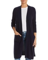 C By Bloomingdale's Cashmere Duster Cardigan - Blue