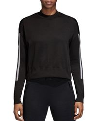 adidas Originals - Id Cropped Sweater - Lyst