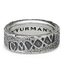 David Yurman Shipwreck Band Ring - Metallic