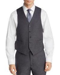 Michael Kors - Tonal Large Plaid Classic Fit Suit Vest - Lyst