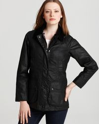 Barbour Beadnell Wax Jacket - Black