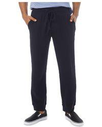 Alternative Apparel Interlock Slim Fit Lounge Pants - Black