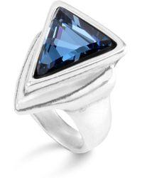 Uno De 50 - Swarovski Crystal Ring - Lyst