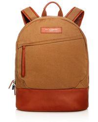 Want Les Essentiels De La Vie Canvas Kastrup Backpack - Natural