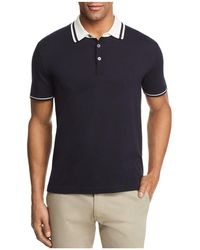 Bloomingdale's - Knit Tipped Regular Fit Polo Shirt - Lyst