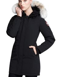 Canada Goose - Victoria Parka Coat - Lyst