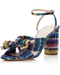 Loeffler Randall - Women's Camellia Bow High - Heel Sandals - Lyst