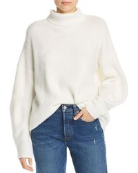 French Connection - Urban Flossy Ribbed Knit Sweater - Lyst