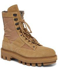 AllSaints - Holt Lace Up Boots - Lyst