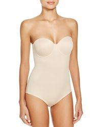 Tc Fine Intimates Back Magic Strapless Bodybriefer - Pink