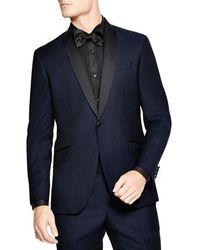 Ted Baker Slim Fit Formal Shawl Jacket - Blue