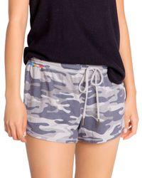 Pj Salvage Camo Print Shorts - Multicolour