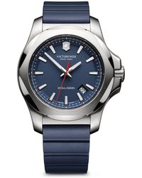 Victorinox Inox Watch, 43mm - Blue
