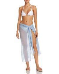 Echo - Tissue Weight Ruana Swim Cover-up - Lyst