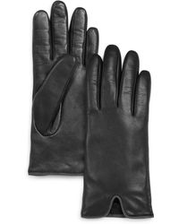 Fownes - Leather Vent Tech Gloves - Lyst