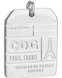Jet Set Candy - Cdg Paris Luggage Tag Charm - Lyst