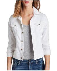 AG Jeans Jacket - Robyn Denim - White