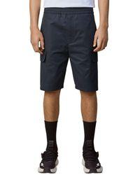 Neil Barrett Drop Rise Slim Fit Shorts - Black