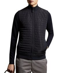 Ted Baker Rapids Quilted Gilet - Blue