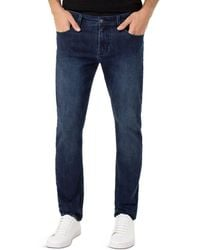 Liverpool Jeans Company Kingston Modern Slim Fit Jeans In Alameda Dark - Blue