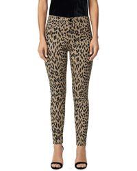 Joe's Jeans - The Charlie Ankle Skinny Jeans In Tan Western Cheetah - Lyst